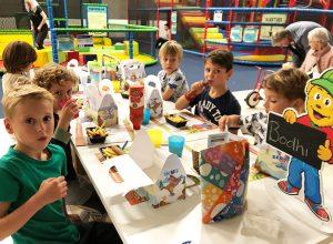 Kinderfeestje bij Avontura horecaplein