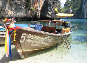 met dreumes naar Thailand