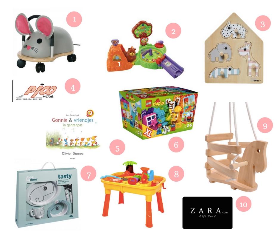 Speelgoed en cadeautips voor een 1 jarig meisje voor
