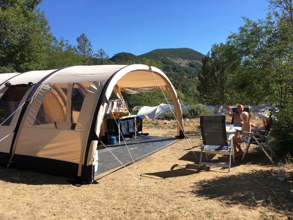 Relaxed kamperen