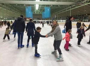 Kinderfeestje ijsbaan