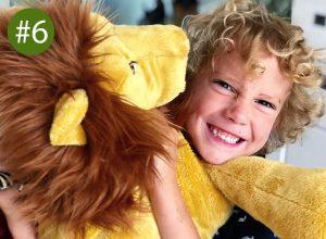 Cadeau jongen 5 jaar - leeuw IKEA
