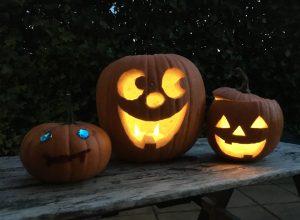 Pompoen DIY - Spooky lampjes