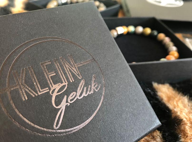 Cadeau voor hem - Klein Geluk armbanden