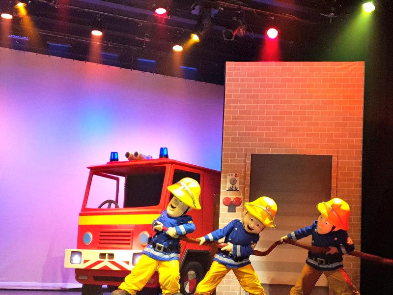 Brandweerman sam in het hoftheater Raalte