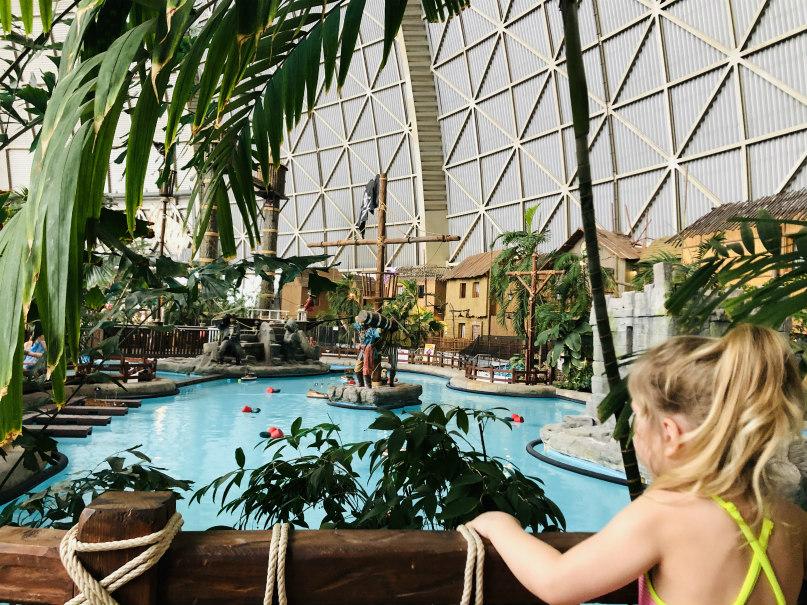 Tropisch zwembad bij Berlijn