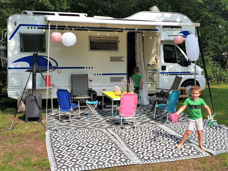 campings in de herfstvakantie