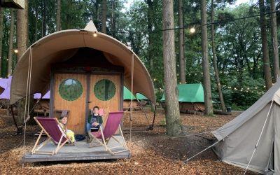 Écht wild kamperen op Burgers' Zoo Camp!